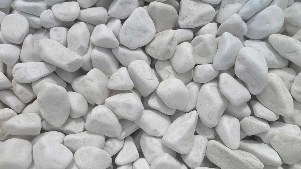 Iber piedra naturstone sl - Canto rodado blanco ...
